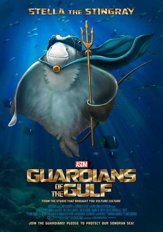 Stella the Stingray; join Stella as a Guardian of the Gulf, pledging to protect the Sonoran Sea